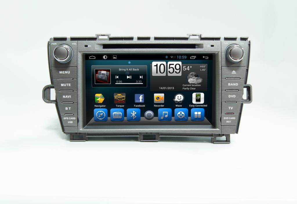 Toyota Prius III Navigációs android autó multimédia
