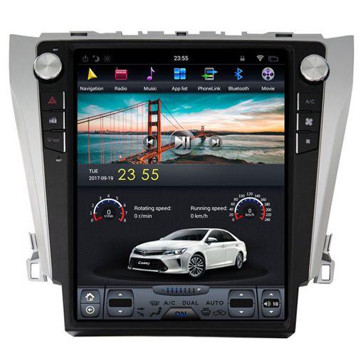 Toyota Camry 2012-2016 Navigációs android autó multimédia vertikális kijelzővel
