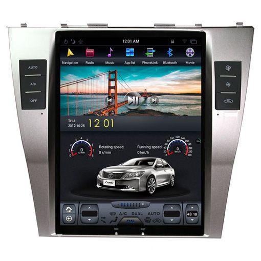Toyota Camry 2006-2011 Navigációs android autó multimédia vertikális kijelzővel