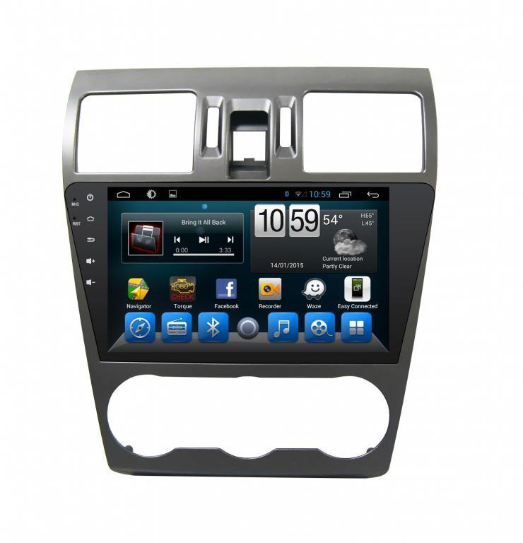 Subaru Forester Navigációs android autó multimédia
