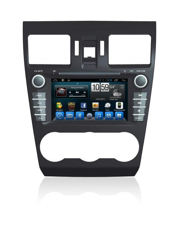 Subaru Forester 2013+ Navigációs android autó multimédia