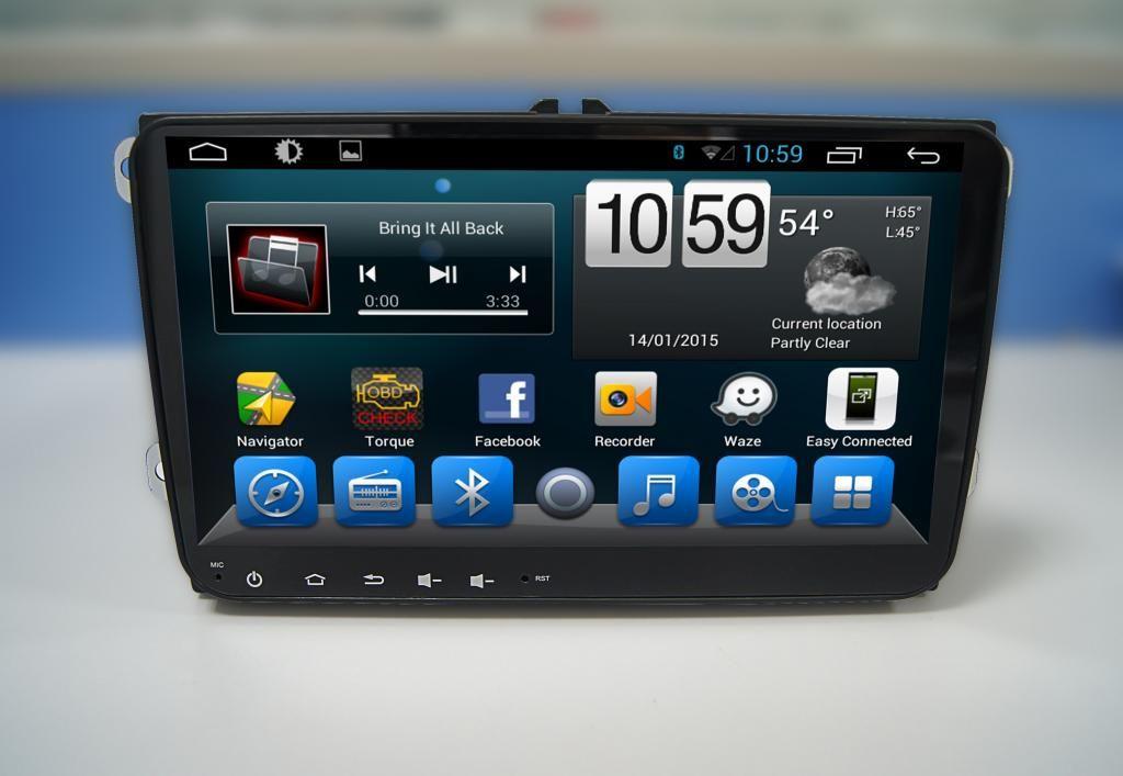 Skoda Yeti Navigációs android autó multimédia (AMC-9071)