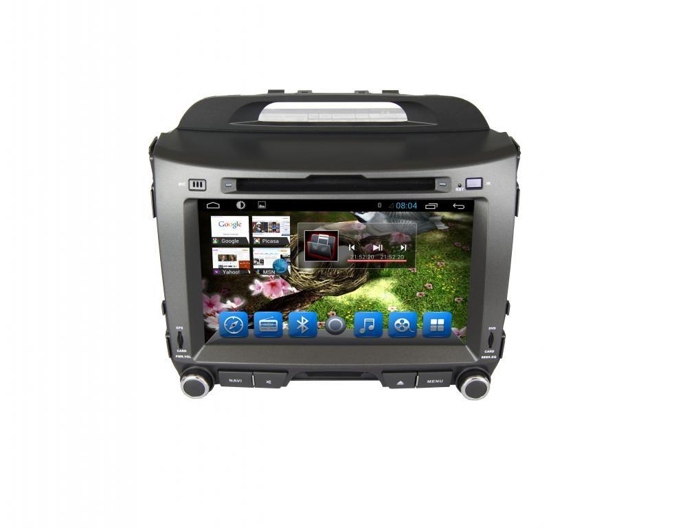 Kia Sportage 2011-2015 Navigációs android autó multimédia